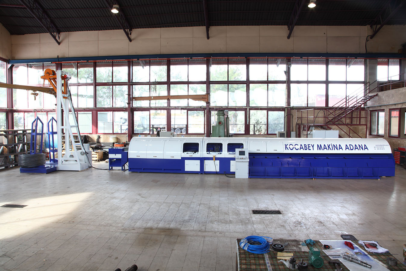 KCM250-48001 Integrated Wire Drawing Ribbing Straightening and Cutting Machine